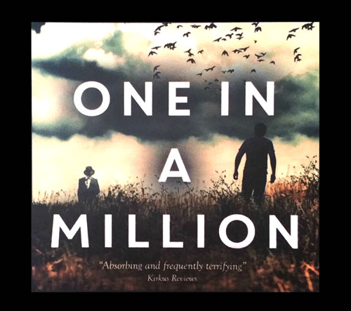 Shop Millionth Trilogy gear - One in a Million Mousepad - Author Tony Faggioli, TonyFaggioli.com
