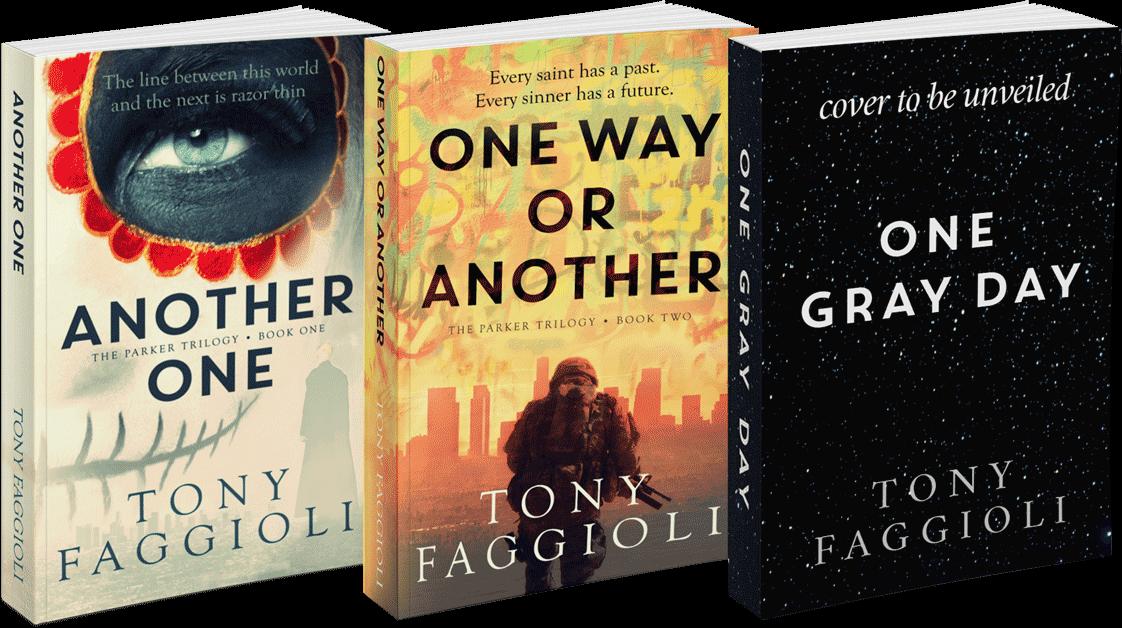 The Parker Trilogy by author Tony Faggioli