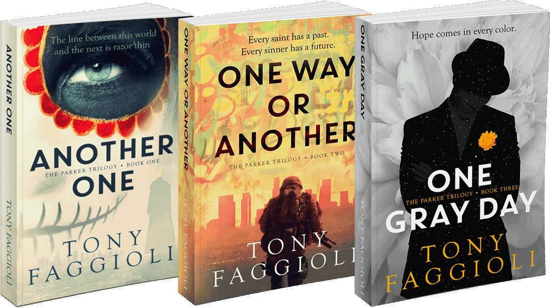 The Parker Trilogy by author Tony Faggioli
